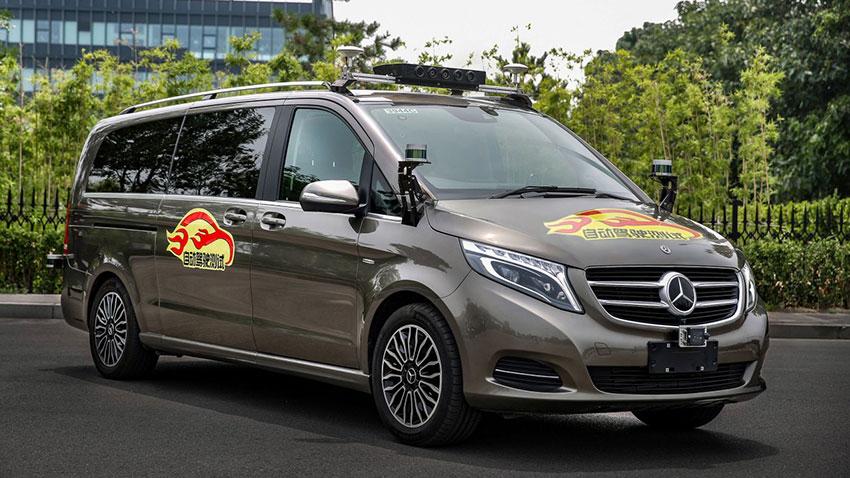 Daimler Sürücüsüz Otomobil Testi