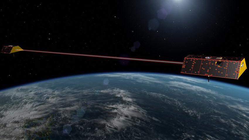 NASA GRACE FO İklim Bilimi Uyduları 1
