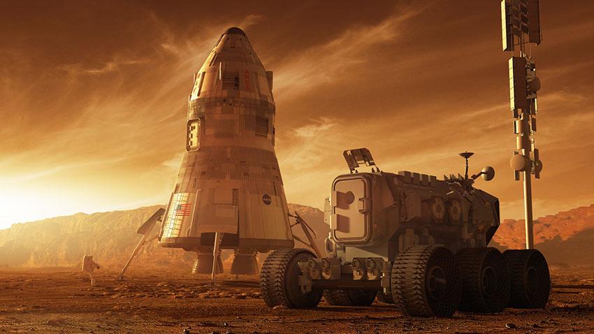 NASA Mars Konut Projesi