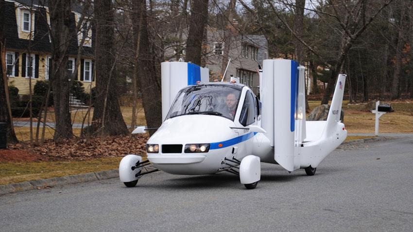 Uçan Otomobil Terrafugia