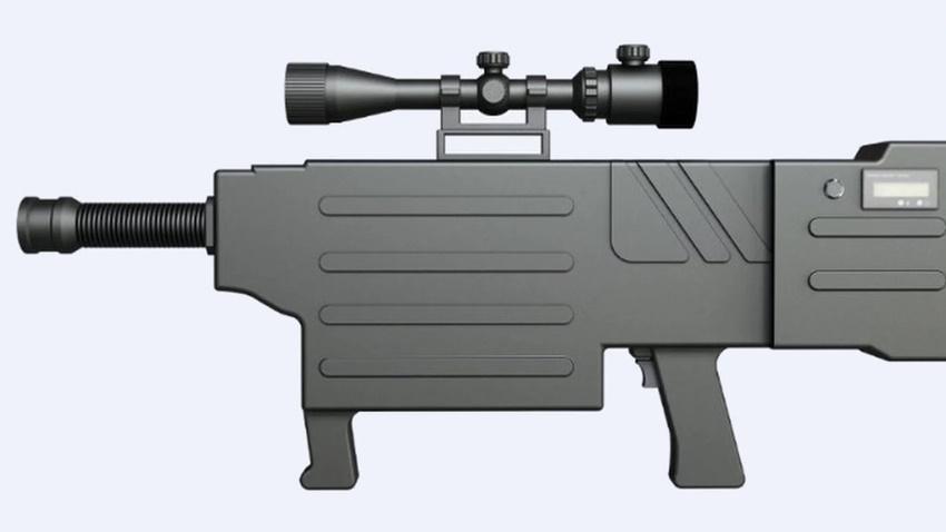 ZKZM 500 Lazer Silahı