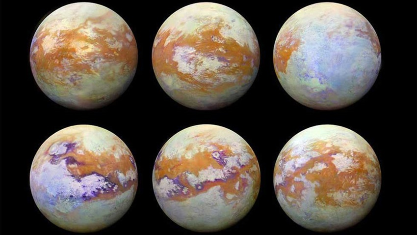 Satürn Titan Fotoğraf