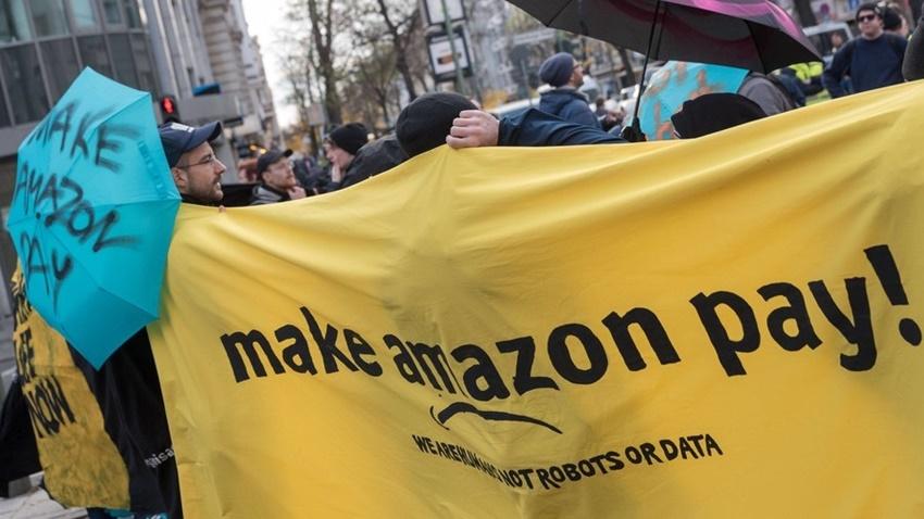Amazon protesto prime day