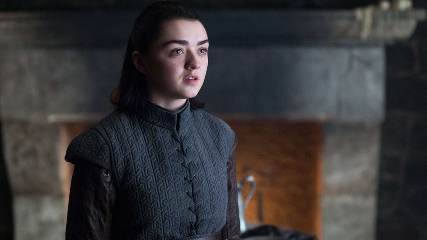 Khaleesi'den Sonra Arya da Game of Thrones'a Veda Etti