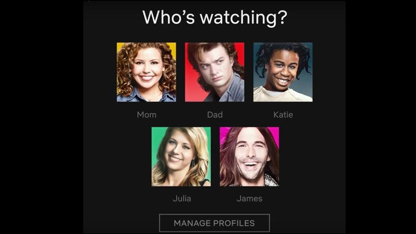 Netflix, Profil İkonlarında Önemli Bir Değişikliğe Gitti