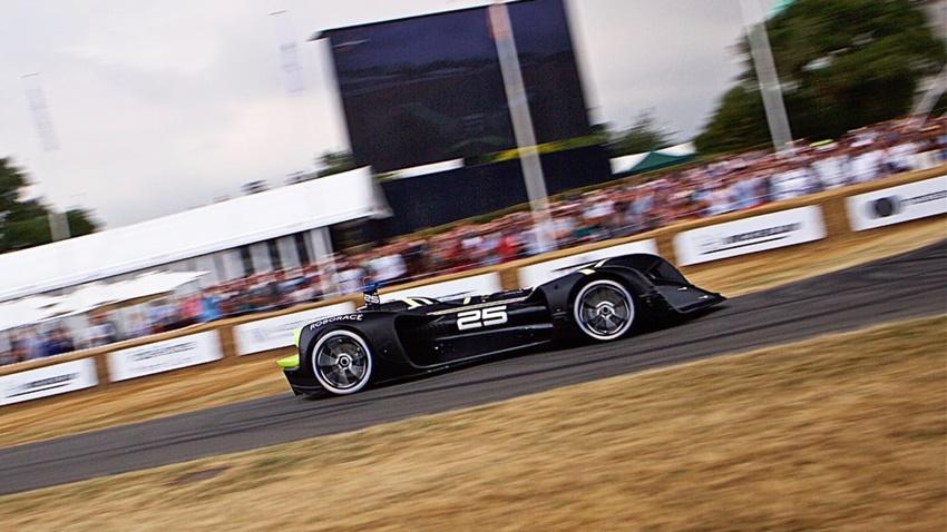 Robocar sürücüsüz yarış arabası