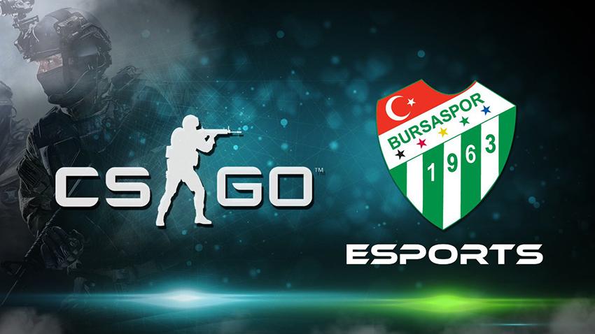 Bursaspor Şimdi de Counter Strike: Global Offensive Takımı Kurdu