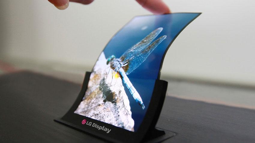 LG Katlanabilen Ekranlar Geliyor