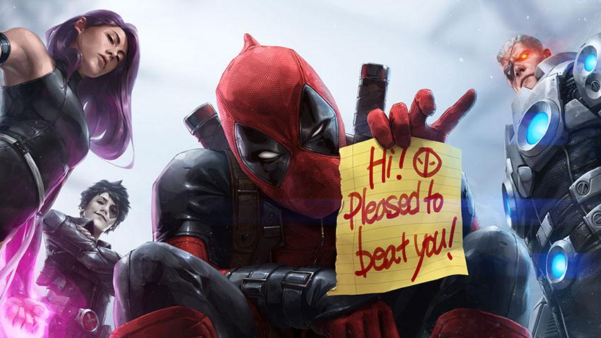 Marvel Future Fight Güncelleme Deadpool