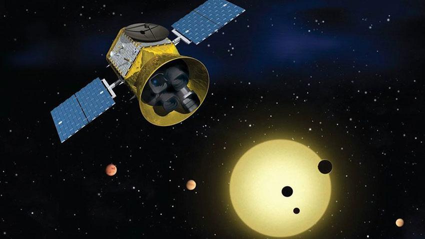 NASA TESS Kuyruklu Yıldızı Görüntüledi