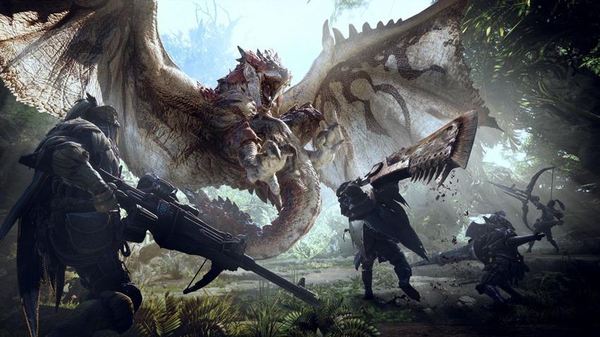 bu hafta çıkacak oyunlar monster hunter world