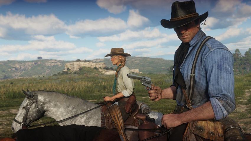 Red Dead Redemption 2 oynanış videosu