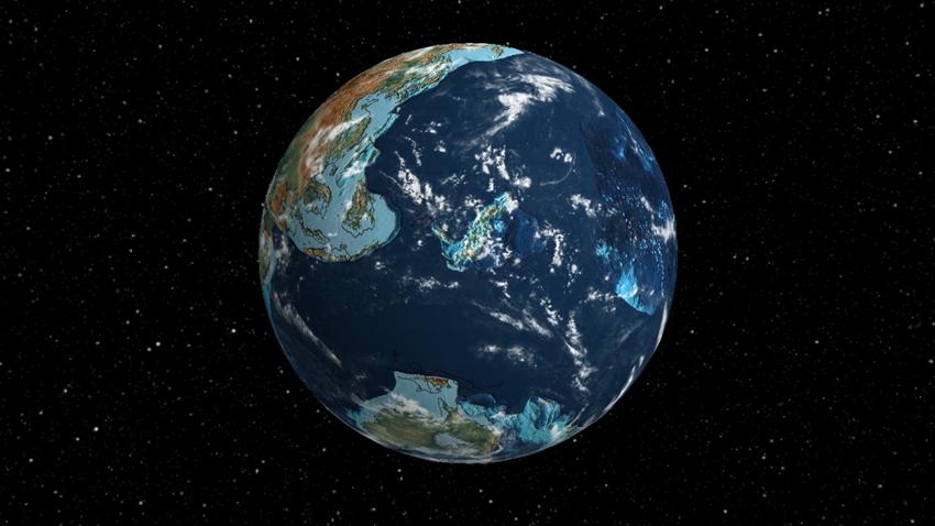 Dünya'nın 750 Milyon Yıl Önce Uzaydan Nasıl Göründüğüne Bakın