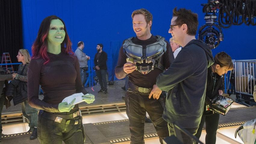 Marvel, Guardians 3'te James Gunn'ın Senaryosunu Kullanacak
