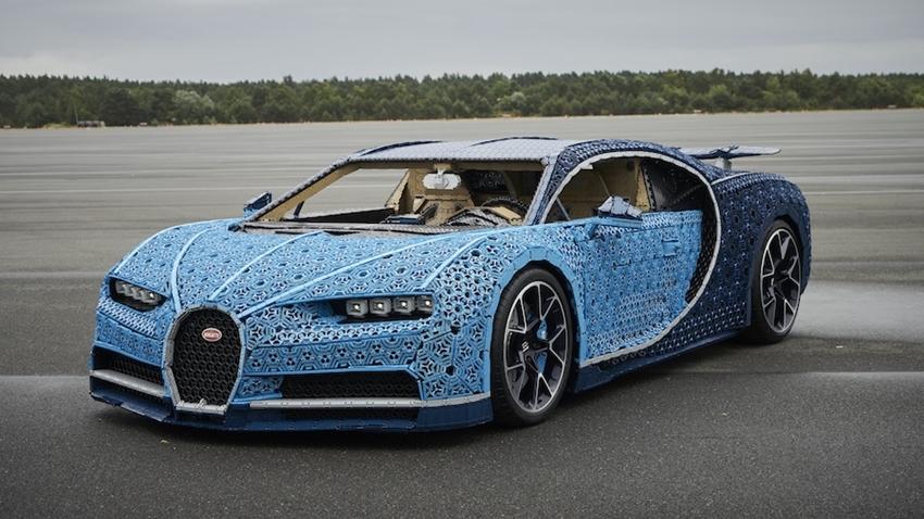 Gerçeğinden Ayırt Edilemeyen LEGO Bugatti Chiron ile Tanışın