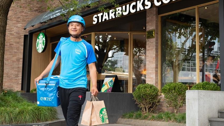 Starbucks Çin'deki Müşterine Alibaba ile Kahve Taşıyacak