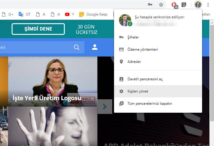 Chrome profiller