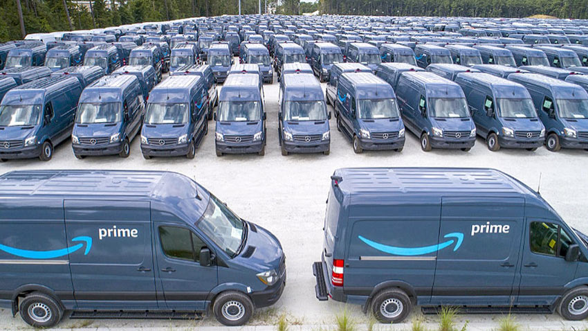 Amazon Mercedes Benz Sprinter Siparişi