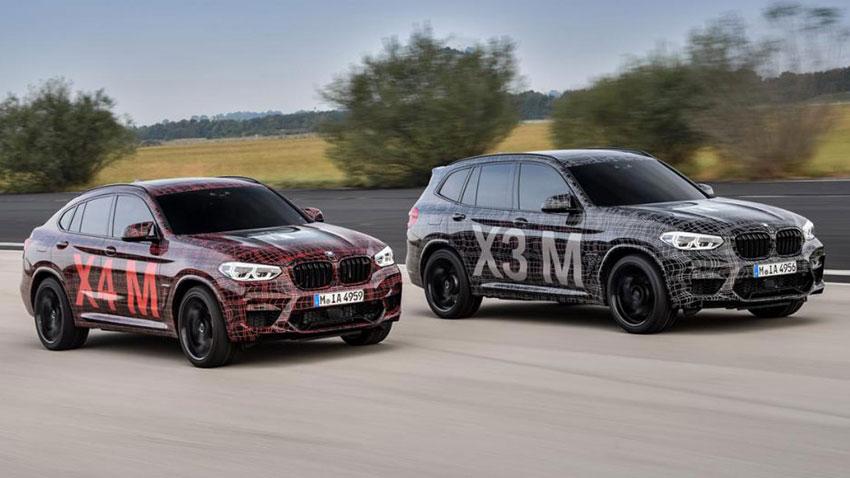 BMW X3 M ve X4 M Kamuflajlı Prototipleri