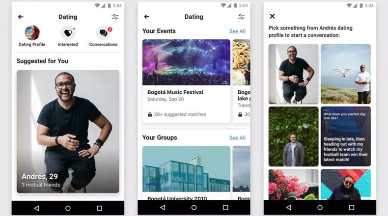 Facebook Dating Uygulamasını Test Ediyor 3