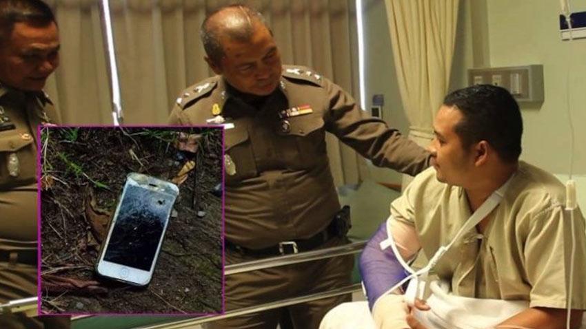 iPhone Polis Memurunun Hayatını Kurtardı