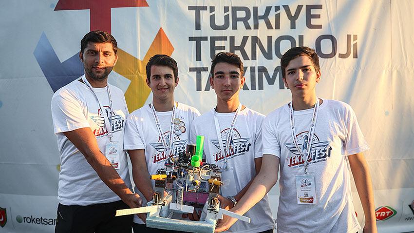 Teknofest İstanbul Fetih Robotu 1