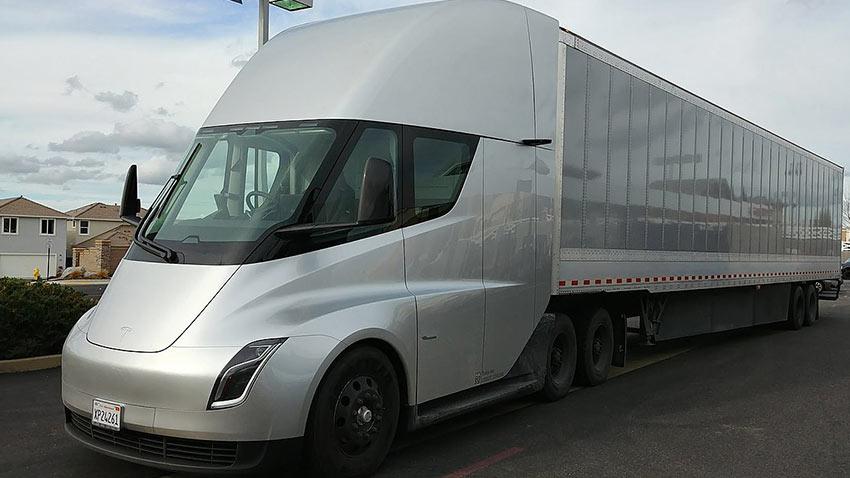 Tesla Semi Salt Lake City Utah