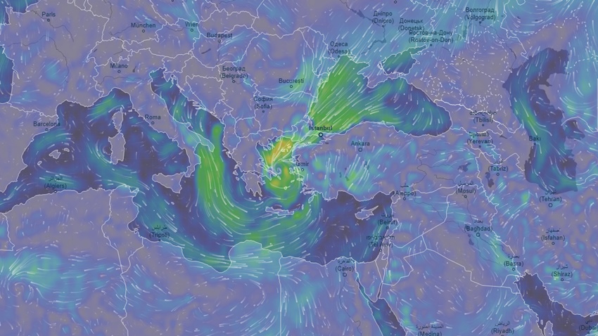 Batı Türkiye fırtına