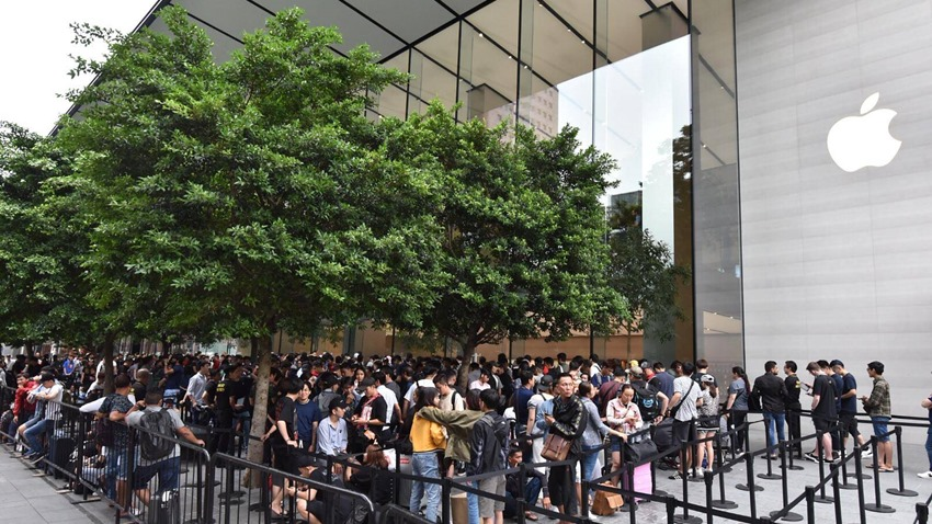 iPhone sırası Huawei