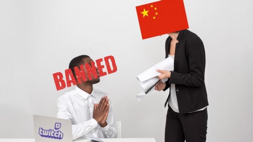Twitch Çin engelleme
