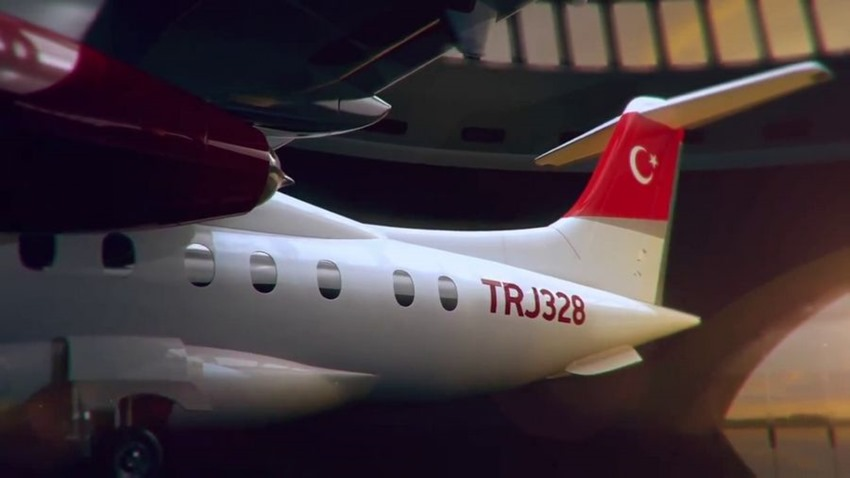 Yerli yolcu uçağı