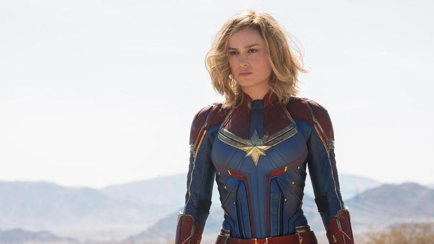 Captain Marvel'dan İlk Kareler Geldi!