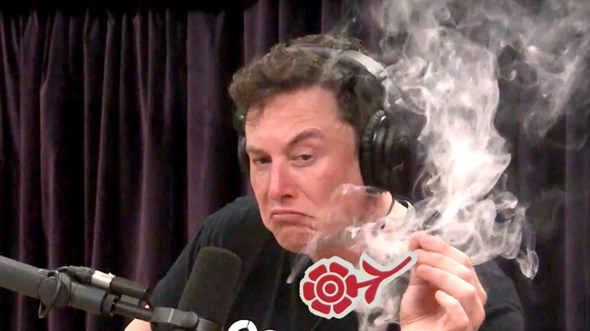 Elon Musk'ın Canlı Yayında Esrar İçtiği Görüntüler Olay Oldu!