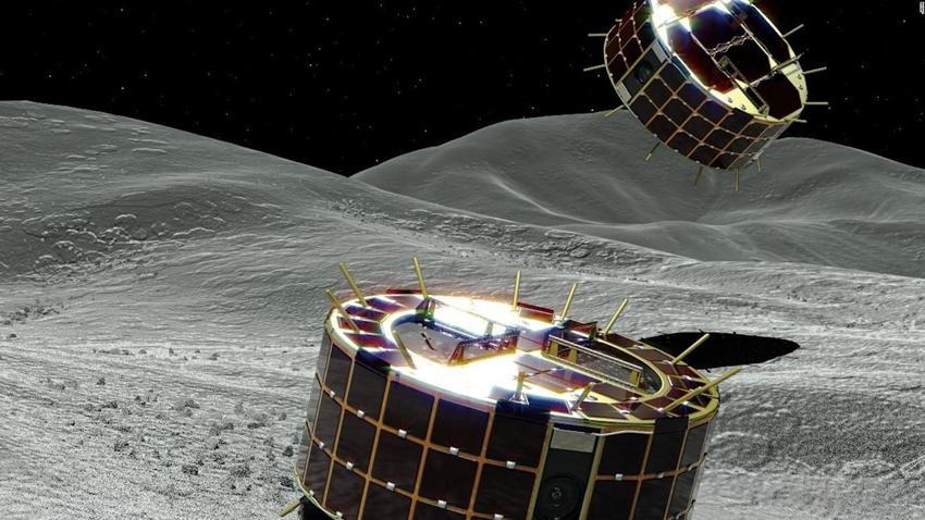 Keşif Robotunun Asteroit Üzerindeki Görkemli Yolculuğunu İzleyin