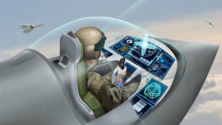 Savaş Uçakları için 'Giyilebilir Kokpit' Teknolojisi Geliyor