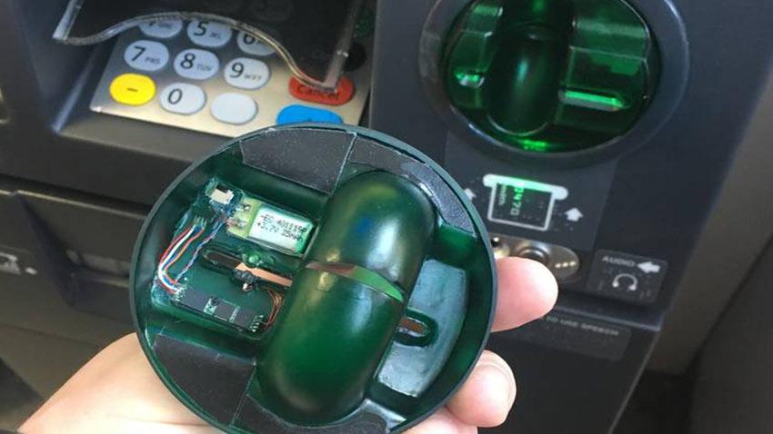 ATM Kart Kopyalama Düzeneği Hırsızlığı