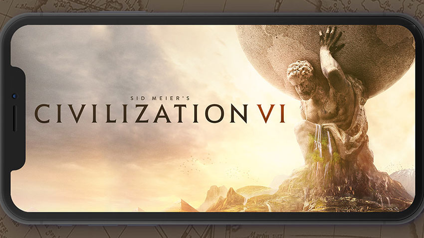 CivilizationVI iPhone Versiyonu Geldi