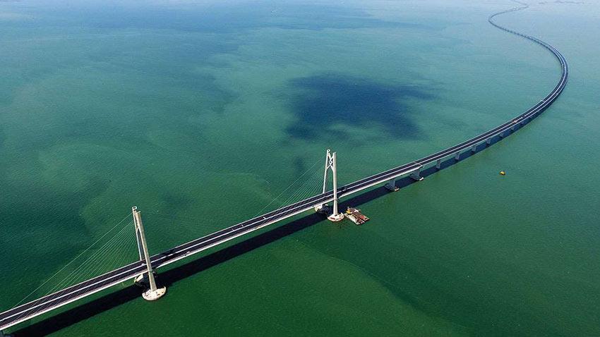 Dünyanın Deniz Üzerine İnşa Edilen En Uzun Köprüsü 1