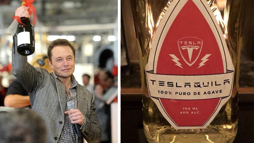 Elon Musk Teslaquila Geliyor Dedi