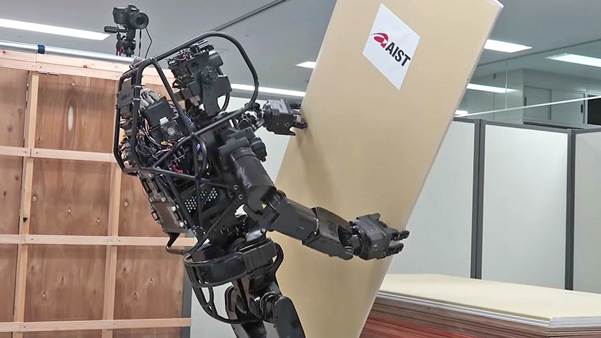 Japonlardan Duvar Örebilen İnsansı Robot