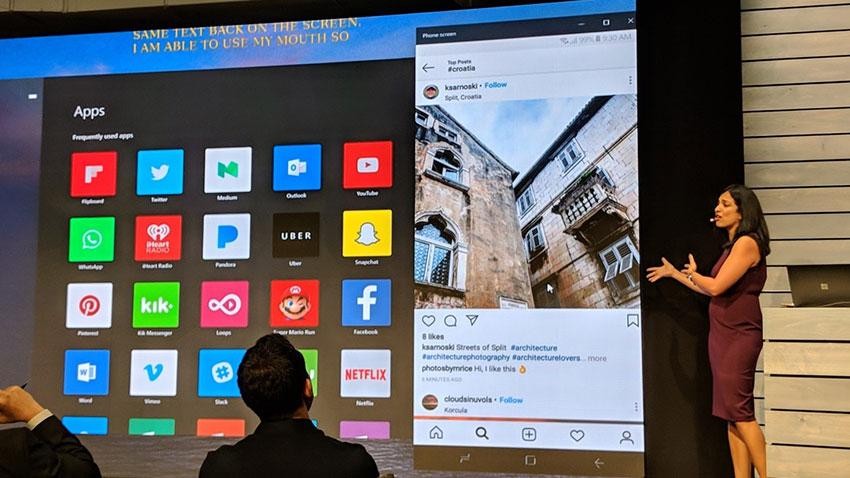 Microsoft Windows10 Uygulama Yansıtma Özelliği