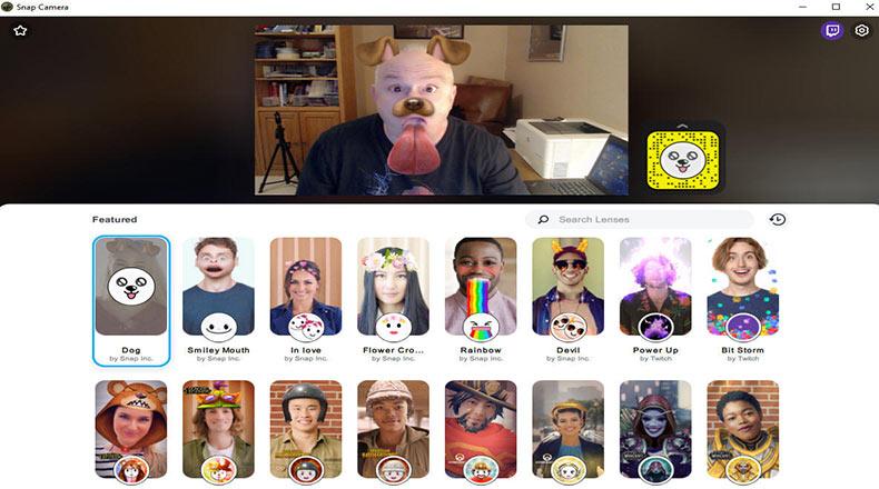 Snapchat Bilgisayar Versiyonu Snap Camera Duyuruldu 2