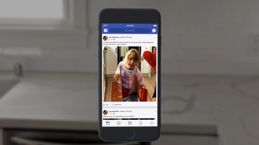 facebook 3d fotoğraf hazırlama