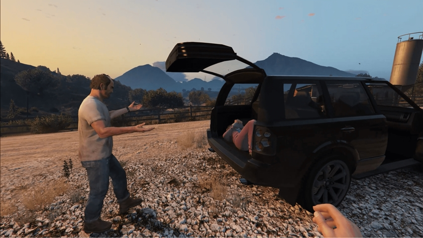 GTA 5 First Person Cutscene