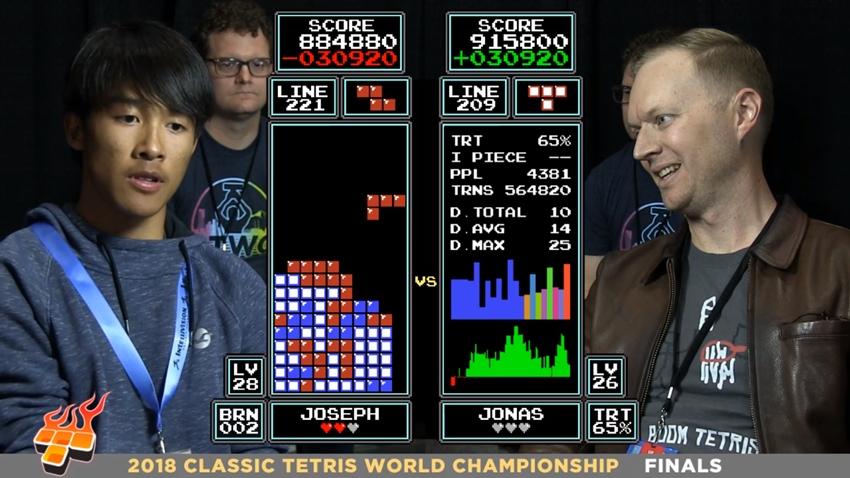 Tetris şampiyonu