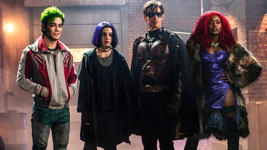 DC Evreni'nin Yeni Dizisi Titans'tan Sürpriz Fragman!