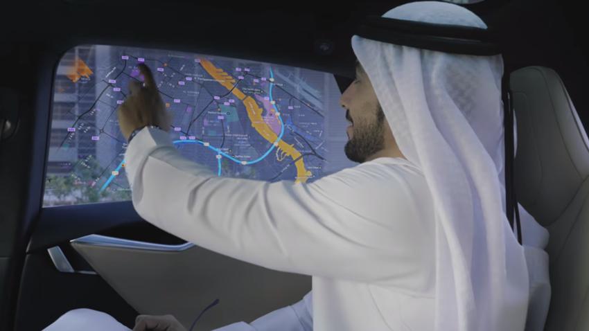 Otonom Taksiler Dubai Caddelerine Çıkıyor
