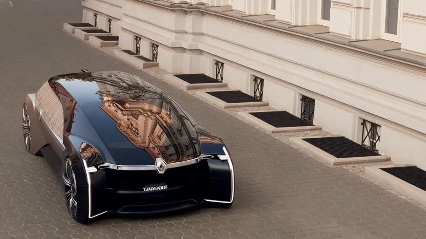 Renault'dan Göz Kamaştıran Otomobil Konsepti EZ-Ultimo