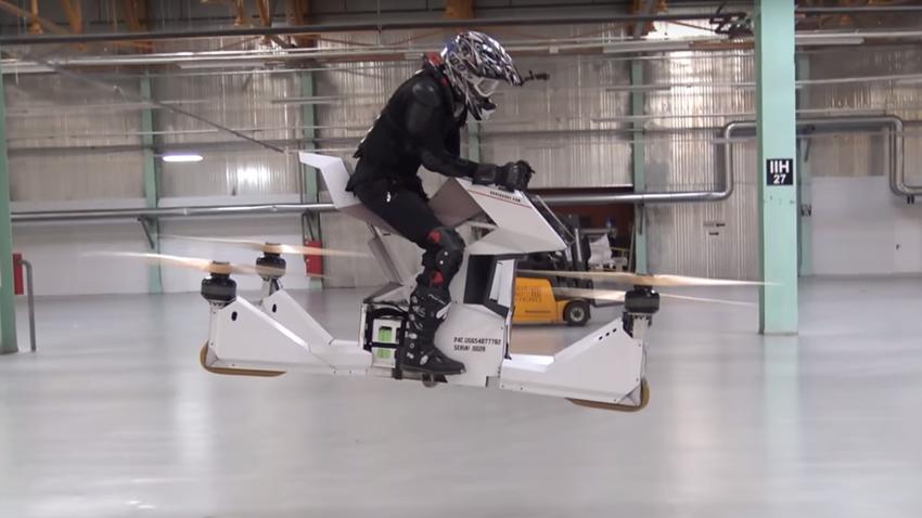Uçan Motosiklet Hoverbike Ön Siparişe Açıldı