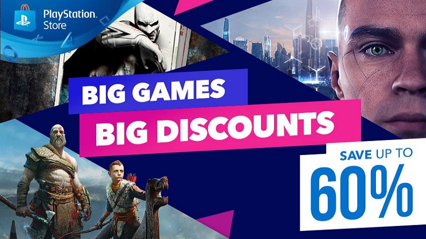 PlayStation Store'da Büyük Oyunlara Büyük İndirimler Geldi